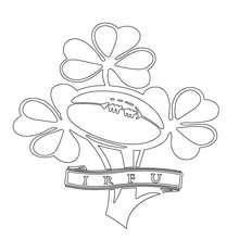 Blason de l'équipe d'Irlande de rugby