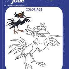 Coloriage du film EMILIE JOLIE - Coloriage - Coloriage FILMS POUR ENFANTS - Coloriage EMILIE JOLIE