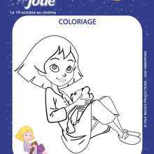 EMILIE JOLIE à colorier - Coloriage - Coloriage FILMS POUR ENFANTS - Coloriage EMILIE JOLIE