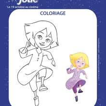 Coloriage en ligne EMILIE JOLIE - Coloriage - Coloriage FILMS POUR ENFANTS - Coloriage EMILIE JOLIE