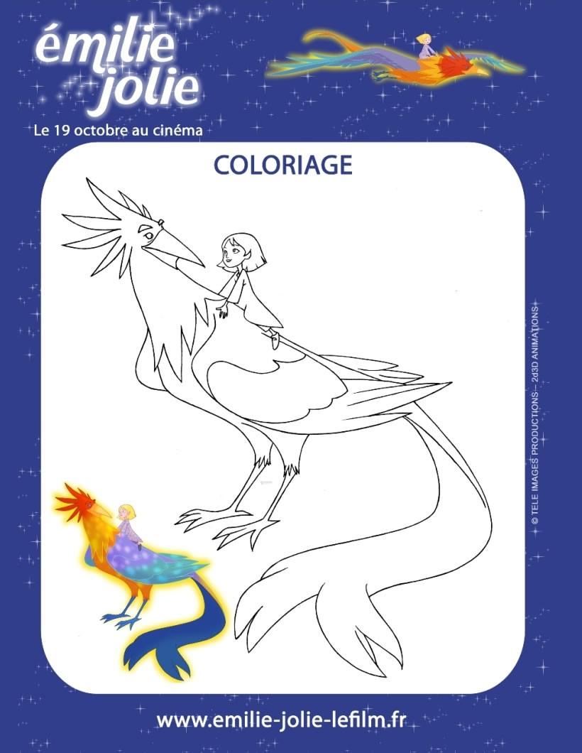 Coloriages Emilie Jolie A Imprimer Fr Hellokids Com