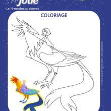 EMILIE JOLIE à imprimer - Coloriage - Coloriage FILMS POUR ENFANTS - Coloriage EMILIE JOLIE
