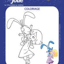EMILIE JOLIE  dessiner - Coloriage - Coloriage FILMS POUR ENFANTS - Coloriage EMILIE JOLIE
