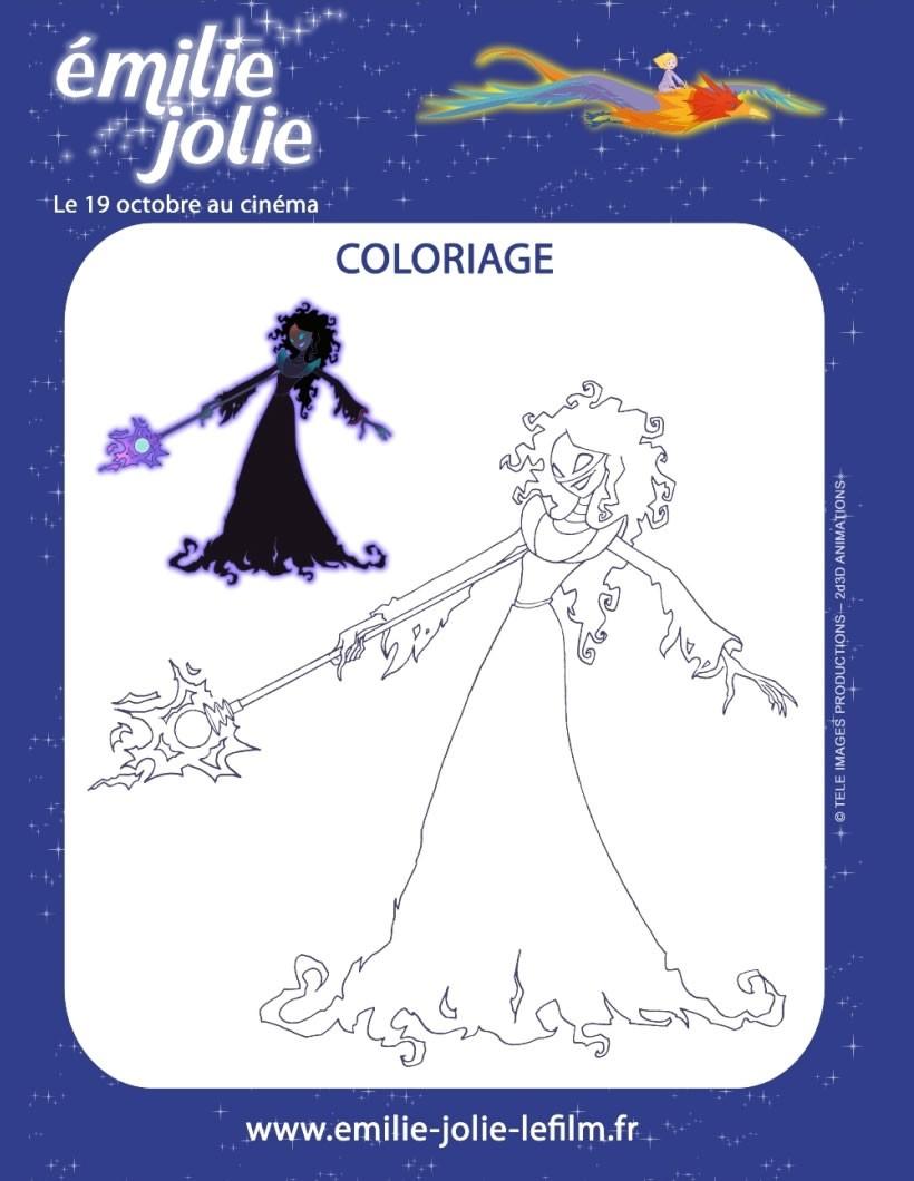 Coloriage Emilie Jolie Coloriages Coloriage A Imprimer Gratuit