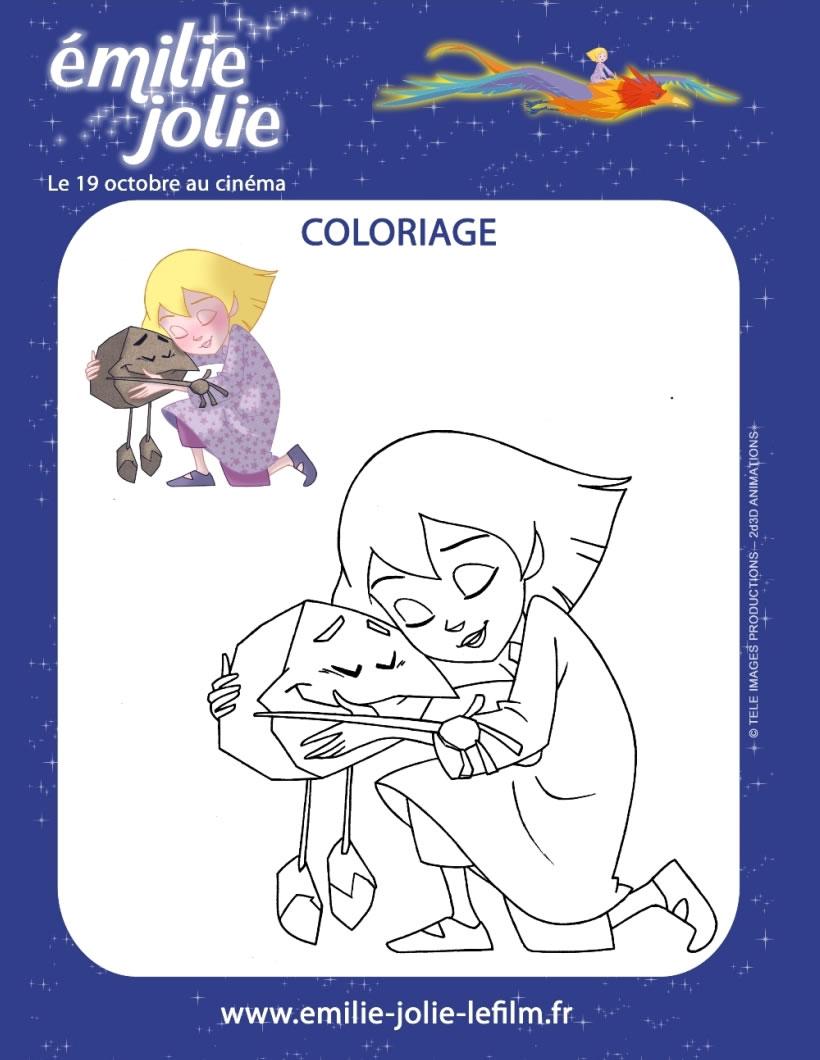 Coloriages Coloriage A Imprimer Emilie Jolie Fr Hellokids Com
