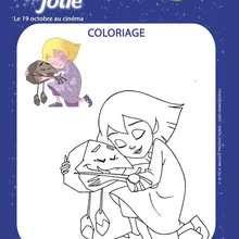 Coloriage à imprimer EMILIE JOLIE - Coloriage - Coloriage FILMS POUR ENFANTS - Coloriage EMILIE JOLIE