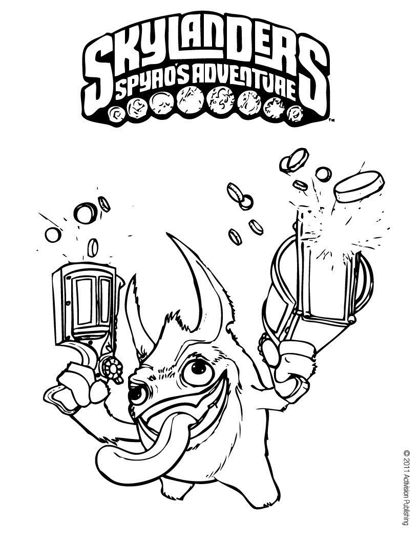 skylanders coloring pages spitfire seattle - photo#31