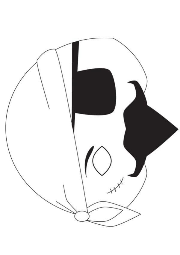 Exceptionnel Activités manuelles masque de pirate - fr.hellokids.com QV51