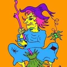 Casse-tête : La sorcière qui s'habille en bleu