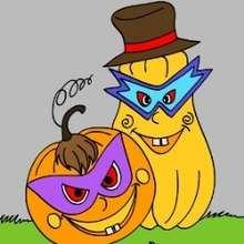 Courge et Potiron d'Halloween - Jeux - Casse-têtes chinois en ligne - Casse-têtes d'Halloween