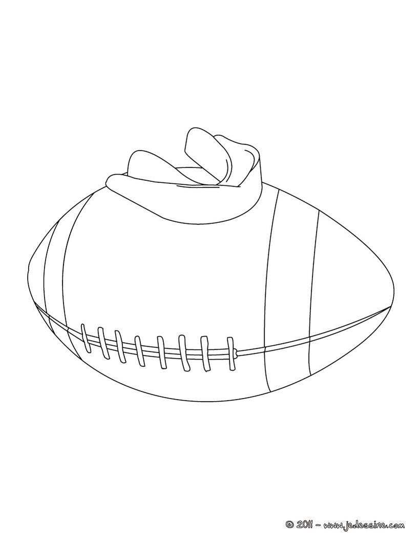 Ballon de rugby - Dessin de joueur de rugby ...