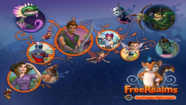 Free Realms le jeu arrive le PlayStation Network !