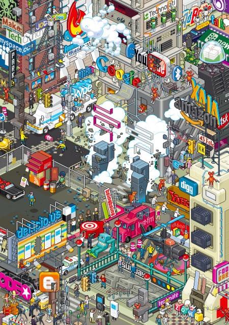 Quelques images de Pixel Art