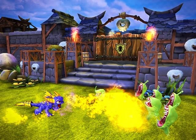 Jeux de skylanders spyro 39 s adventure captures d 39 cran - Skylanders jeux gratuit ...