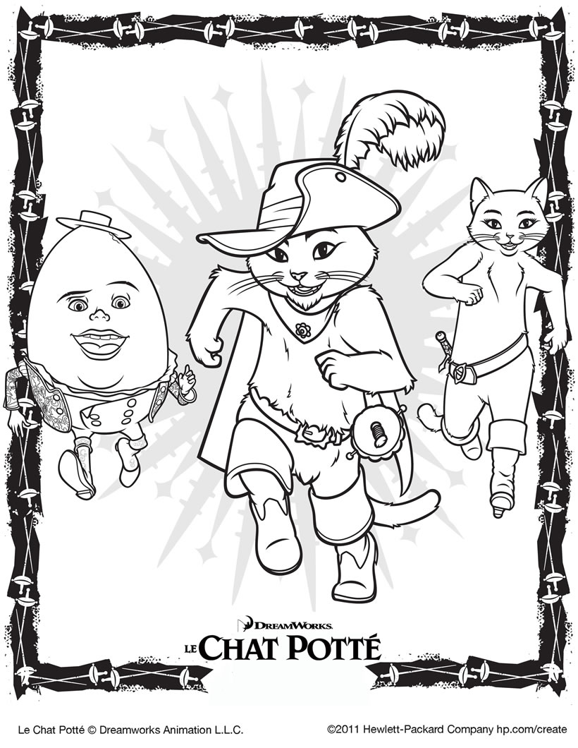 Coloriage Chat Botte A Imprimer.Coloriage Chat Potte Coloriages Coloriage A Imprimer Gratuit