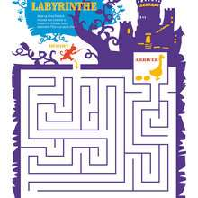 Labyrinthe CHAT POTTE - Coloriage - Coloriage FILMS POUR ENFANTS - Coloriage CHAT POTTE