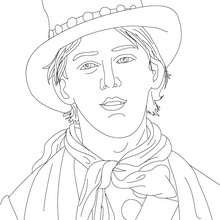 Coloriage de BILLY THE KID