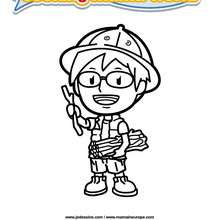 Coloriage Cooking Mama 3 - Club Aventure - Coloriage - Coloriage A IMPRIMER - Coloriage COOKING MAMA WORLD