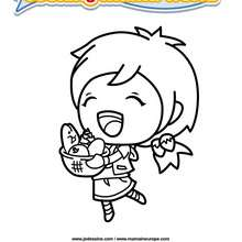 Coloriage Cooking Mama 4 - Club Aventure - Coloriage - Coloriage A IMPRIMER - Coloriage COOKING MAMA WORLD