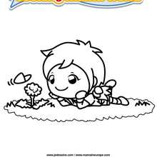 Coloriage Cooking Mama 5 - Club Aventure - Coloriage - Coloriage A IMPRIMER - Coloriage COOKING MAMA WORLD