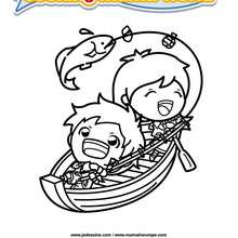 Coloriage Cooking Mama 6 - Club Aventure - Coloriage - Coloriage A IMPRIMER - Coloriage COOKING MAMA WORLD