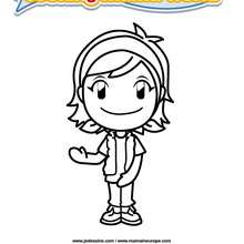 Coloriage Cooking Mama 10 - Club Aventure - Coloriage - Coloriage A IMPRIMER - Coloriage COOKING MAMA WORLD