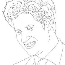 Coloriage du PRINCE HARRY