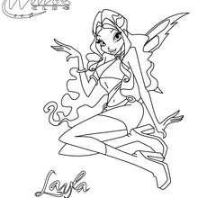 Coloriage : LAYLA à colorier