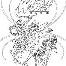 Coloriages musa transformation bloomix - Dessin anime des winx club ...