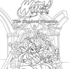 Coloriage : WINX CLUB à colorier gratuitement