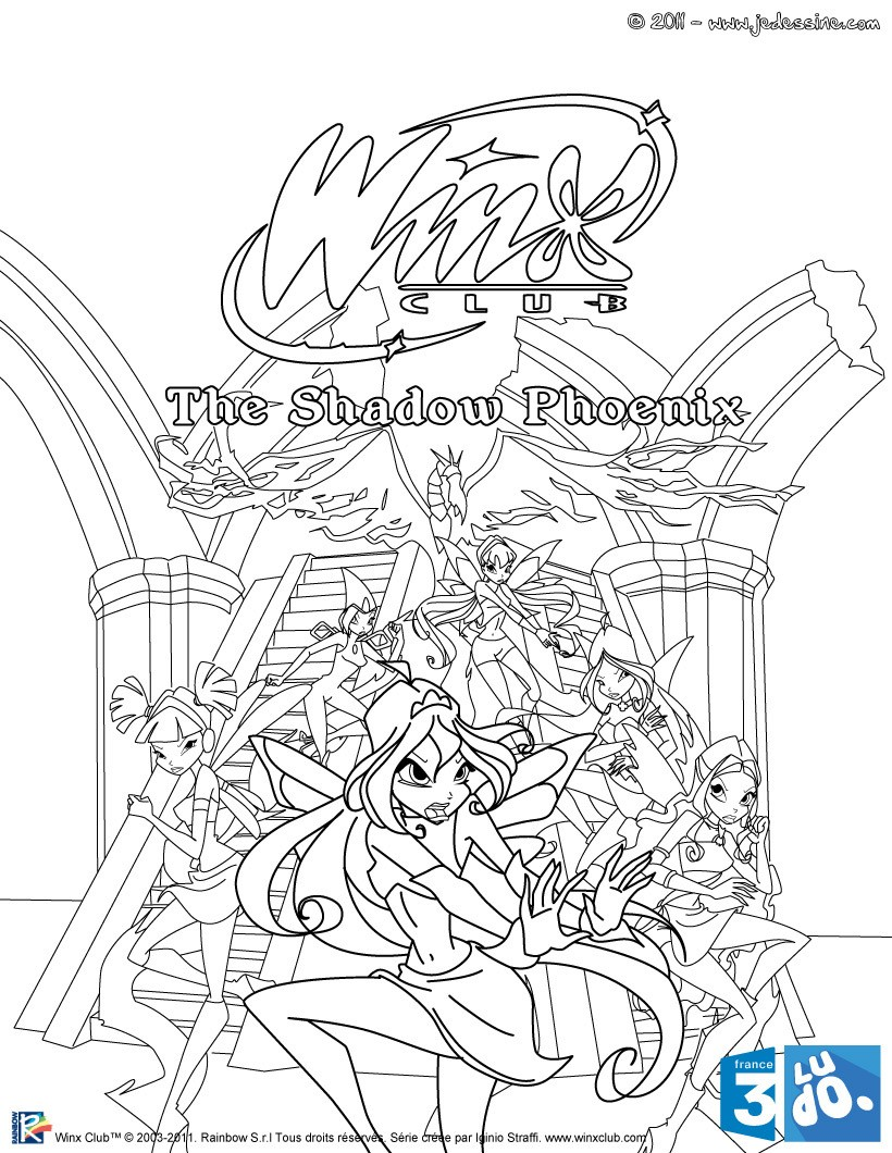 coloriage winx club colorier gratuitement