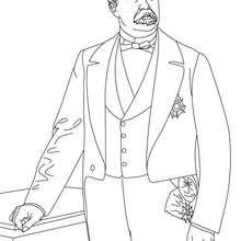 Coloriage du Président PATRICE DE MAC MAHON - Coloriage - Coloriage HISTOIRE ET PAYS - Coloriage FRANCE - Coloriage PRESIDENT FRANÇAIS