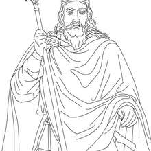 Coloriage du Roi CLOVIS - Coloriage - Coloriage HISTOIRE ET PAYS - Coloriage FRANCE - Coloriage ROI DE FRANCE