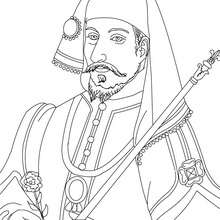 Coloriage de HENRY IV - Coloriage - Coloriage HISTOIRE ET PAYS - Coloriage FRANCE - Coloriage ROI DE FRANCE
