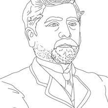 Coloriage GUSTAVE EIFFEL