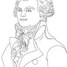Coloriage ROBESPIERRE