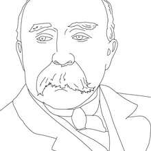 Coloriage GEORGES CLEMENCEAU