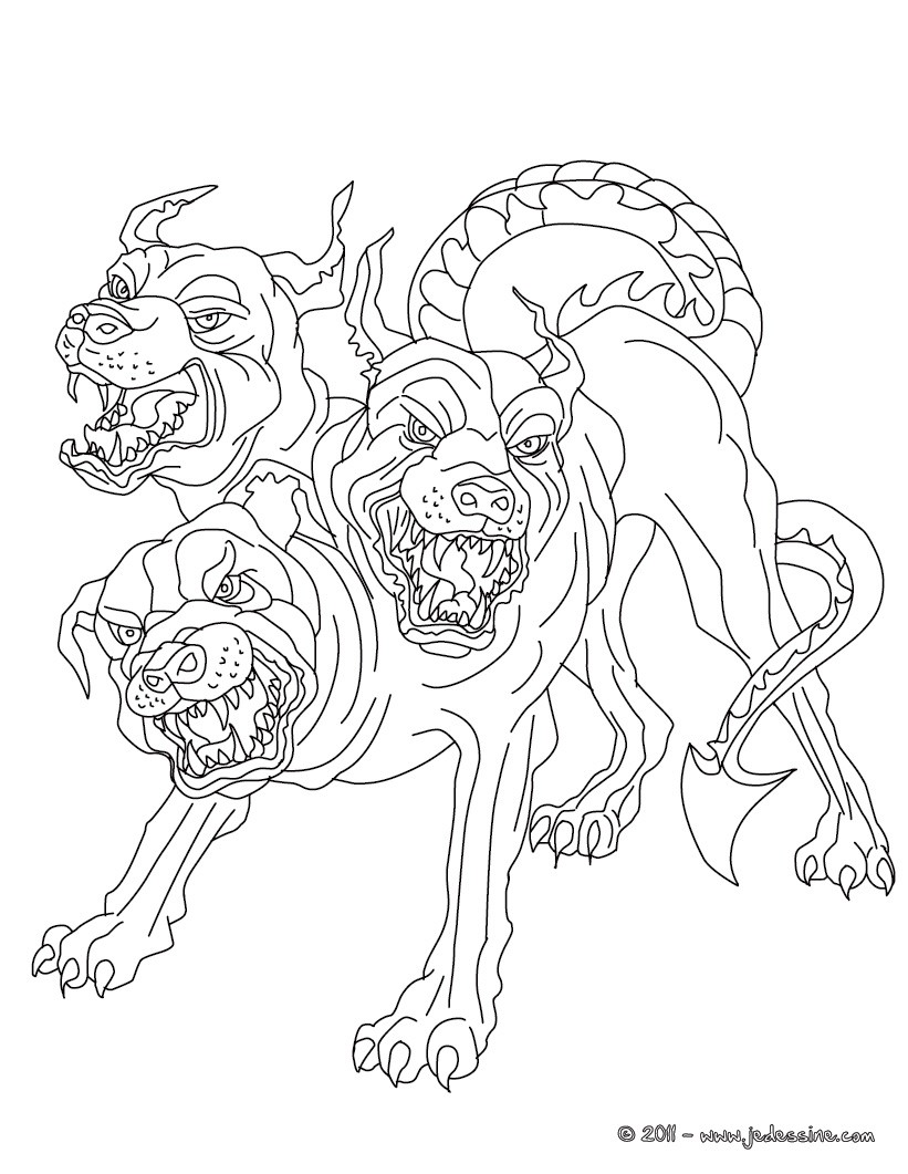 Coloriage Mythologie Grecque Coloriages Coloriage à
