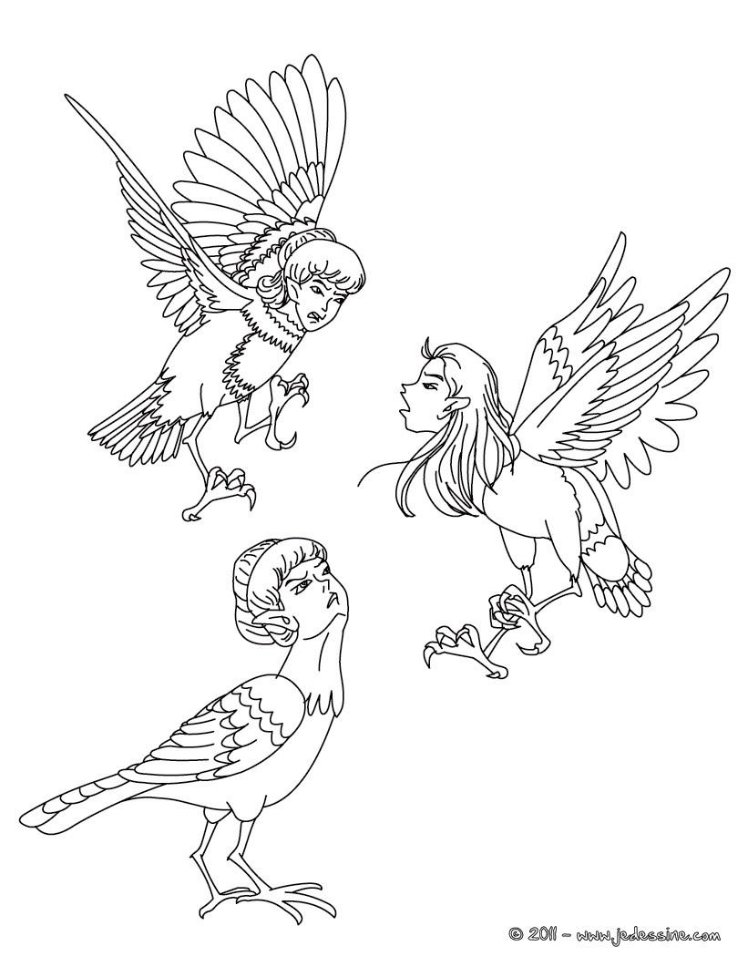 Les personnages de mythologie