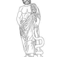 Personnage mythologique : Asklepios : Dieu de la médecine