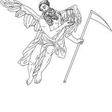 Personnage mythologique : CHRONOS, Dieu du temps