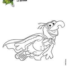 Coloriage Le GRAND GONZO - Coloriage - Coloriage DISNEY - Coloriage MUPPETS