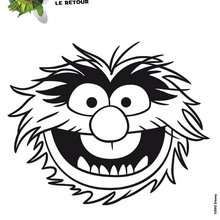 Coloriage ANIMAL - Coloriage - Coloriage DISNEY - Coloriage MUPPETS