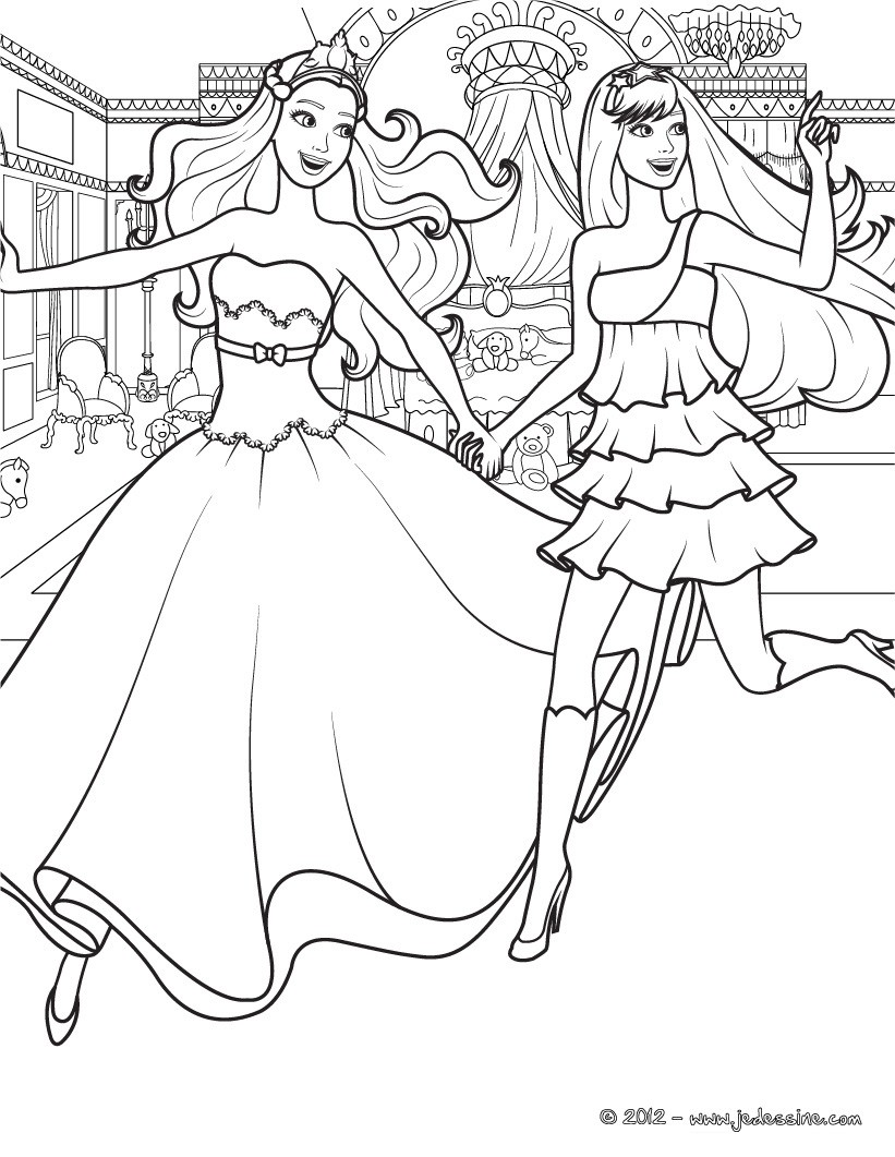 Barbie Keira Coloring Pages : Coloriages coloriage � imprimer de keira et tori fr