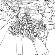 La transformation de KEIRA et TORI - Coloriage - Coloriage BARBIE - Coloriage BARBIE - LA PRINCESSE et LA POPSTAR
