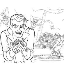 Coloriage Barbie : Coloriage de CRIDER ET RUPERT