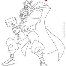 Coloriage Disney : Thor