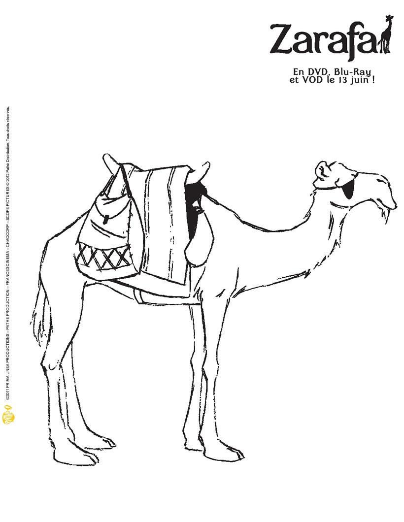 Coloriages coloriage chameau - Dessin de chameau ...