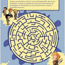 Labyrinthe TOTO - Jeux - Les jeux LES BLAGUES DE TOTO