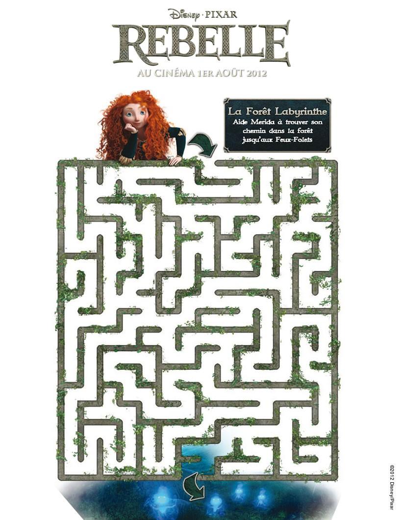 Jeux de labyrinthe rebelle - Rebelle gratuit ...